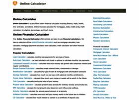 Online-calculator.org thumbnail