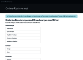 Online-rechner.net thumbnail