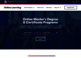 Online.american.edu thumbnail