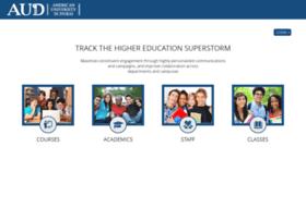 Online.aud.edu thumbnail