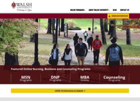 Online.walsh.edu thumbnail