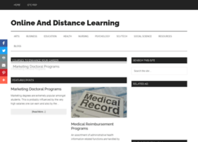 Onlineanddistancelearning.com thumbnail