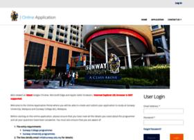 Onlineapplication.sunway.edu.my thumbnail