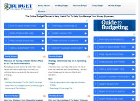 budget website free