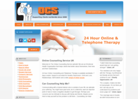 Onlinecounsellingservice.co.uk thumbnail
