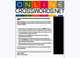 Onlinecrosswords.net thumbnail