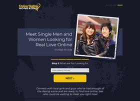 Online dating hong kong