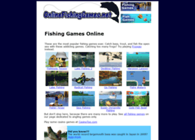 Onlinefishinggames.net thumbnail