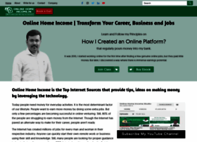 Onlinehomeincome.in thumbnail