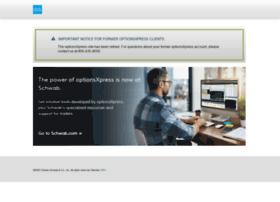 Virtual trading optionsxpress login