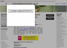 Onlinenewsportal.co.in thumbnail