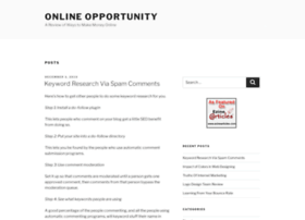 Onlineopportunity.org thumbnail