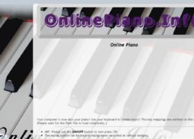 Onlinepiano.info thumbnail