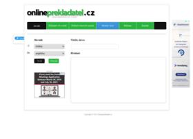 Onlineprekladatel.cz thumbnail