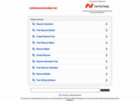 Onlineresumemaker.net thumbnail