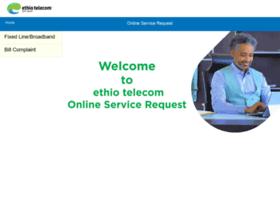 Onlineservices.ethiotelecom.et thumbnail