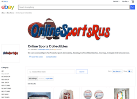 Onlinesportscollectibles.com thumbnail