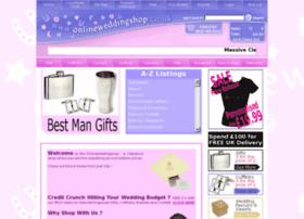 Onlineweddingshop.co.uk thumbnail