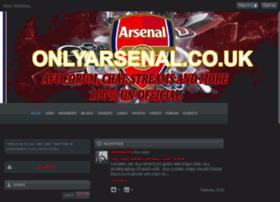 Onlyarsenal.co.uk thumbnail