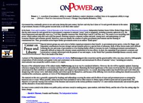 Onpower.org thumbnail