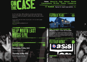 Onthecasemusic.co.uk thumbnail
