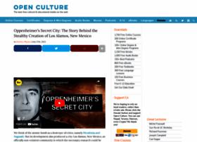 Openculture.com thumbnail