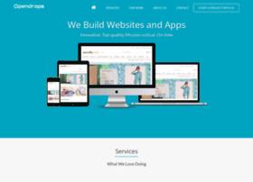 Opendrops Com At Wi Opendrops Web Design Development Company Pondicherry India