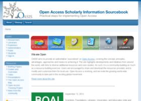 Openoasis.org thumbnail