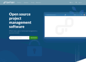 Openproject.com thumbnail