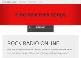 Openrockradio.org thumbnail