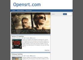 Opensrt.com thumbnail
