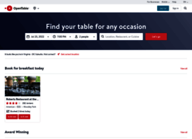 opentable.com at WI. Restaurants and Restaurant ...