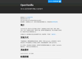Openvanilla.org thumbnail