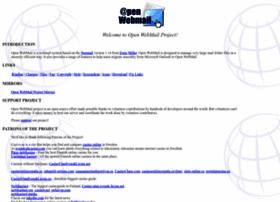 Openwebmail.org thumbnail