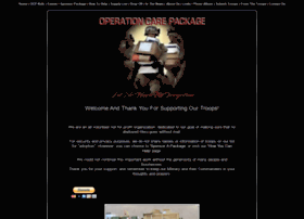 Operationcarepackages.org thumbnail