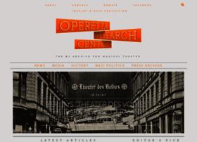 Operetta-research-center.org thumbnail