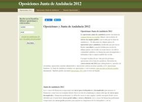 Oposicionesjuntadeandalucia.net thumbnail