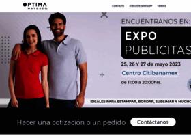 Optimaplayeras.com.mx thumbnail