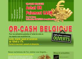 Or-cash-belgique.be thumbnail