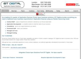 Oracle-apex.co.uk thumbnail