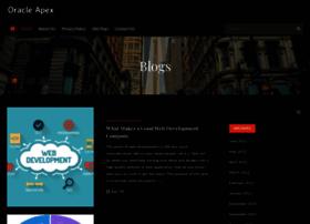 Oracleapex.info thumbnail
