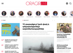 Oragir.live thumbnail