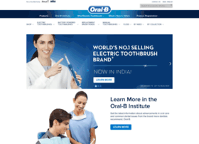 Oral-b.co.in thumbnail