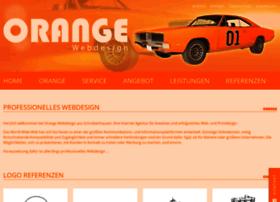 Orange-webdesign.de thumbnail