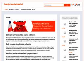 Oranje-feestwinkel.nl thumbnail