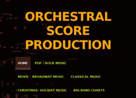Orchestralscoreproduction.com thumbnail