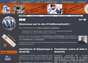 Ordiformation81.fr thumbnail