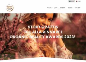 Organicbeautyawards.se thumbnail