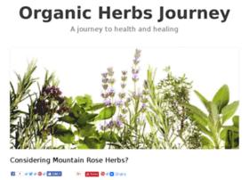Organicherbsjourney.com thumbnail