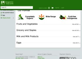 Organicsquare.in thumbnail